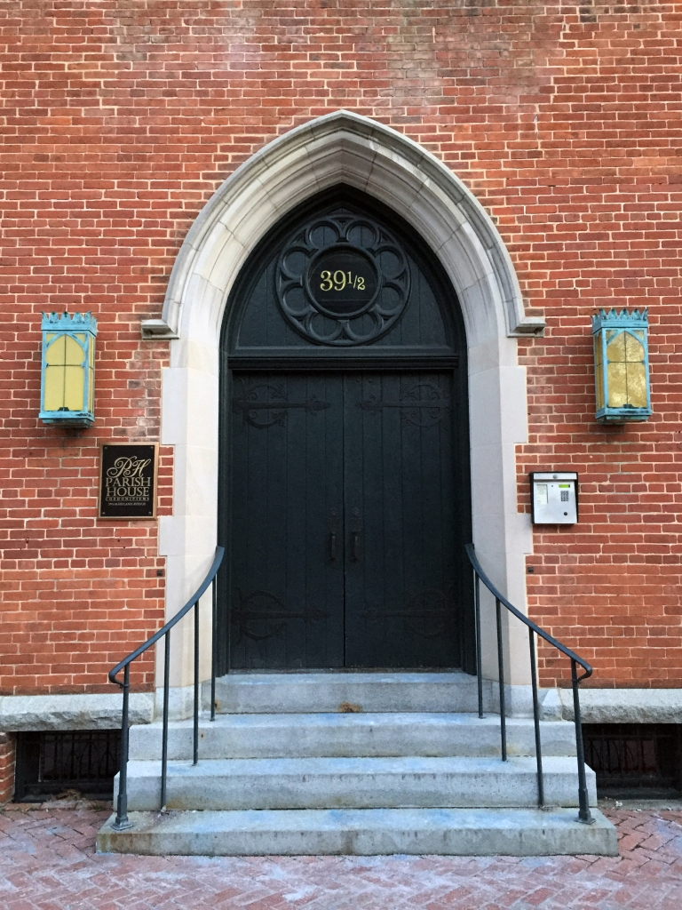A beautiful entrance on Maryland Avenue. Annapolis, MD