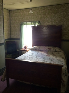 A room in the Idaho Hotel in Silver City, ID.