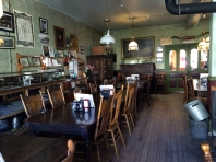 The saloon of the Idaho Hotel in Silver City, ID. Photo by Brianna Griff
