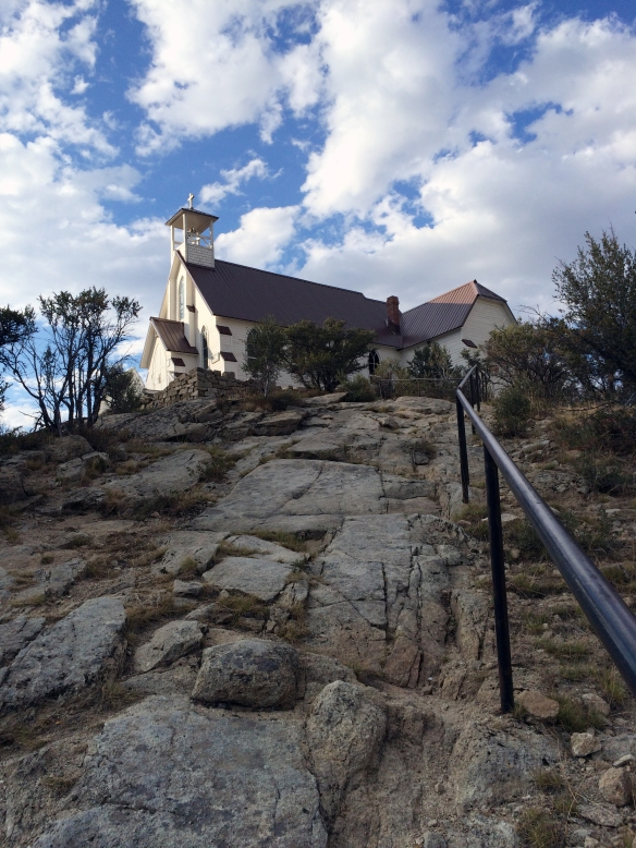 Our Lady of Tears church in Silver City, ID. Photo by Brianna Griff