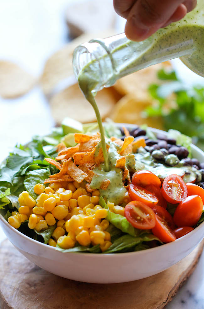 Southwestern Chopped Salad by Damn Delicious
