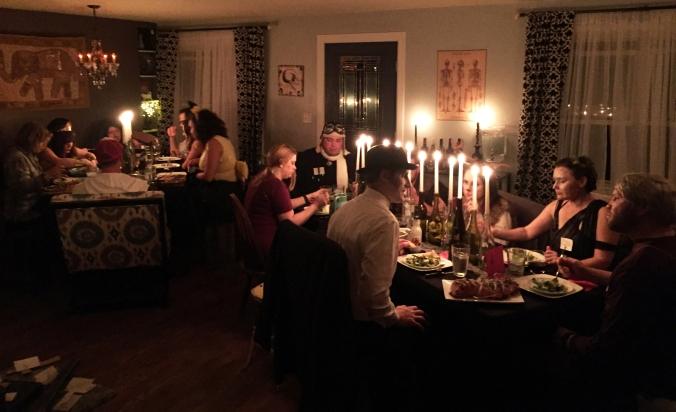 Halloween Dinner Party Spooktacular Soiree